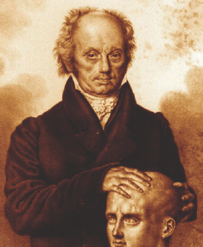 Figure 11: German physician Franz Joseph Gall (1748–1828) gave birth to the idea of phrenology.
