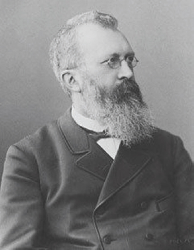 Figure 16: German neurologist Eduard Hitzig (1838–1907).